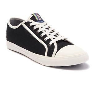 NEW ORIGINAL PENGUIN Black Canvas Sneaker